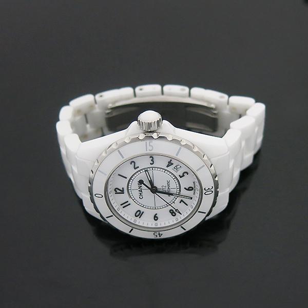 Chanel(샤넬) H0970 오토매틱 J12 화이트세라믹 38MM 남성용 시계 [부산센텀본점] 이미지3 - 고이비토 중고명품