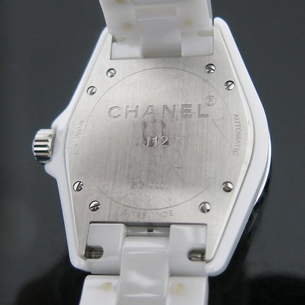 Chanel(샤넬) H0970 오토매틱 J12 화이트세라믹 38MM 남성용 시계 [부산센텀본점] 이미지6 - 고이비토 중고명품