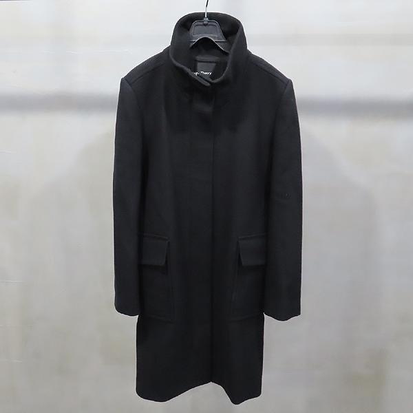 THEORY(띠어리) 울 75% 블랙 컬러 여성용 코트 [인천점]