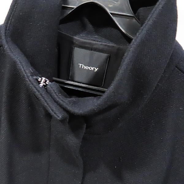THEORY(띠어리) 울 75% 블랙 컬러 여성용 코트 [인천점] 이미지3 - 고이비토 중고명품