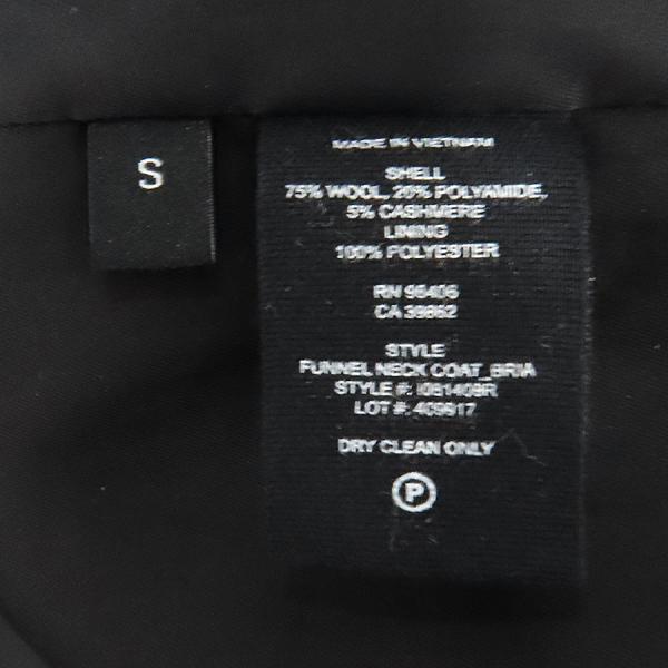 THEORY(띠어리) 울 75% 블랙 컬러 여성용 코트 [인천점] 이미지5 - 고이비토 중고명품