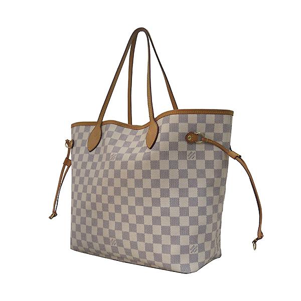 Louis Vuitton(루이비통) N41605 다미에 아주르 캔버스 네버풀 MM 숄더백 [부산센텀본점] 이미지3 - 고이비토 중고명품