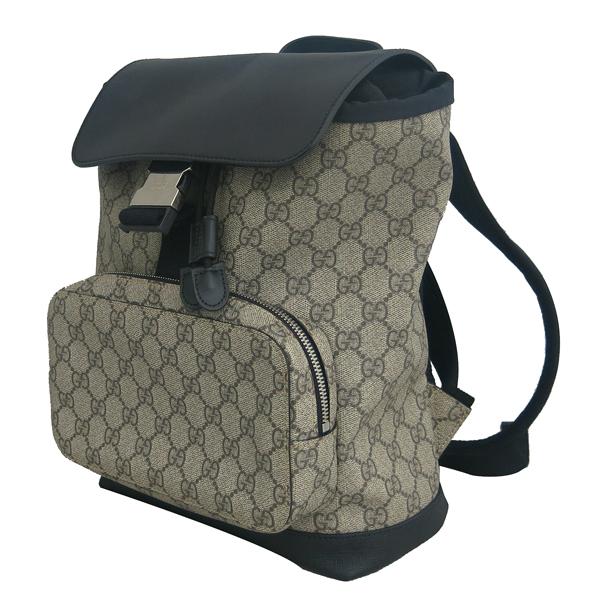 Gucci(구찌) 406399 GG 로고 PVC 수프림 백팩 [동대문점] 이미지2 - 고이비토 중고명품