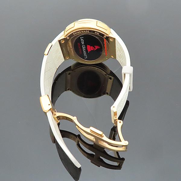 Gucci(구찌) YA114216 그래미 어워즈 스페셜에디션 금장 디지털 화이트 러버밴드 시계 [부산서면롯데점] 이미지7 - 고이비토 중고명품