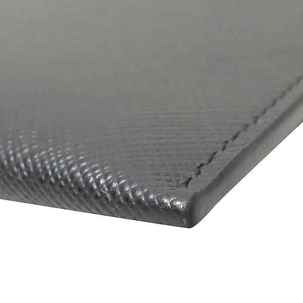 Prada(프라다) 19F/W 2NH001 사피아노 레더 은장 삼각로고 클러치백 [부산서면롯데점] 이미지5 - 고이비토 중고명품