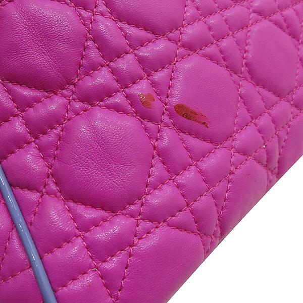 Dior(크리스챤디올) M9803PABL 퍼플 레더 디올 뉴 록 은장 체인 숄더백 [인천점] 이미지5 - 고이비토 중고명품