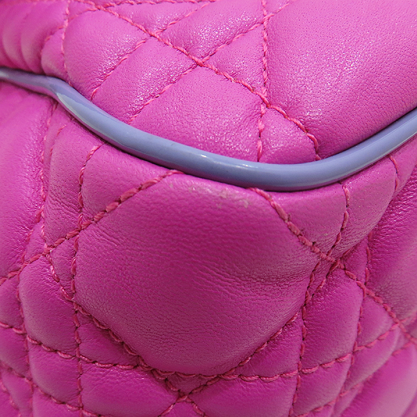 Dior(크리스챤디올) M9803PABL 퍼플 레더 디올 뉴 록 은장 체인 숄더백 [인천점] 이미지6 - 고이비토 중고명품