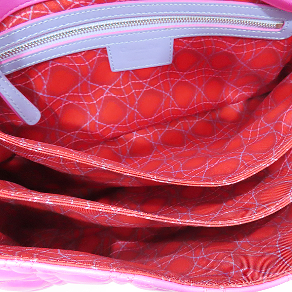 Dior(크리스챤디올) M9803PABL 퍼플 레더 디올 뉴 록 은장 체인 숄더백 [인천점] 이미지7 - 고이비토 중고명품