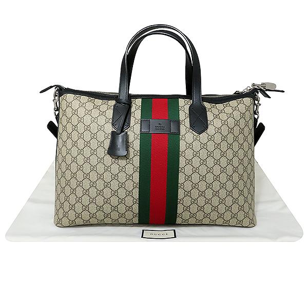Gucci(구찌) 359261 WEP(웹) GG로고 장식 수프림 더플 토트백 + 숄더 스트랩 [대전본점]