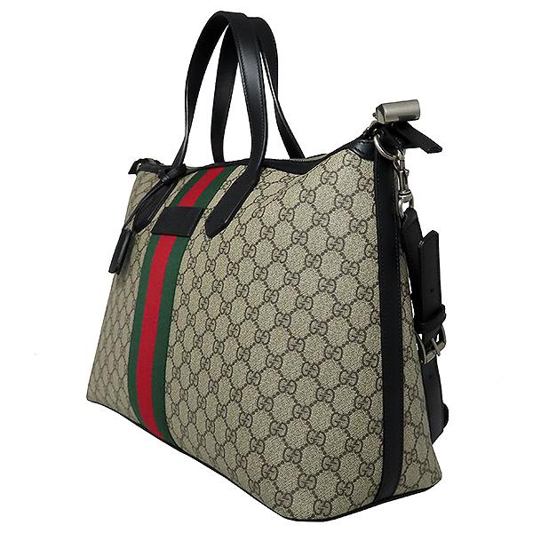 Gucci(구찌) 359261 WEP(웹) GG로고 장식 수프림 더플 토트백 + 숄더 스트랩 [대전본점] 이미지3 - 고이비토 중고명품