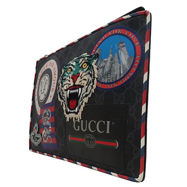 Gucci(구찌) 496346 GG 슈프림 캔버스 나이트 쿠리에 클러치백 + 손목스트랩 [인천점] 이미지3 - 고이비토 중고명품