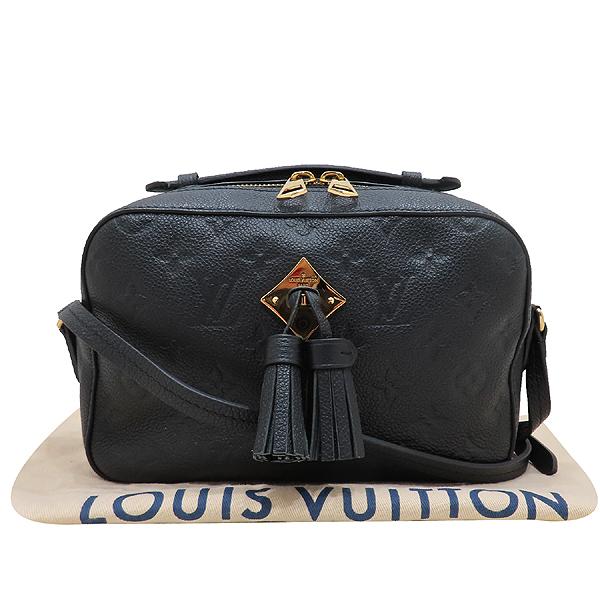 Louis Vuitton(루이비통) M44593 블랙 레더 앙프렝뜨 생통주 술장식 크로스백 [인천점]