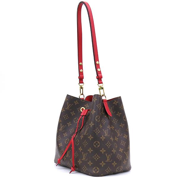 Louis Vuitton(루이비통) M44021 모노그램 캔버스 Coquelicot 레드컬러 네오 노에 버킷 숄더백 [잠실점] 이미지3 - 고이비토 중고명품