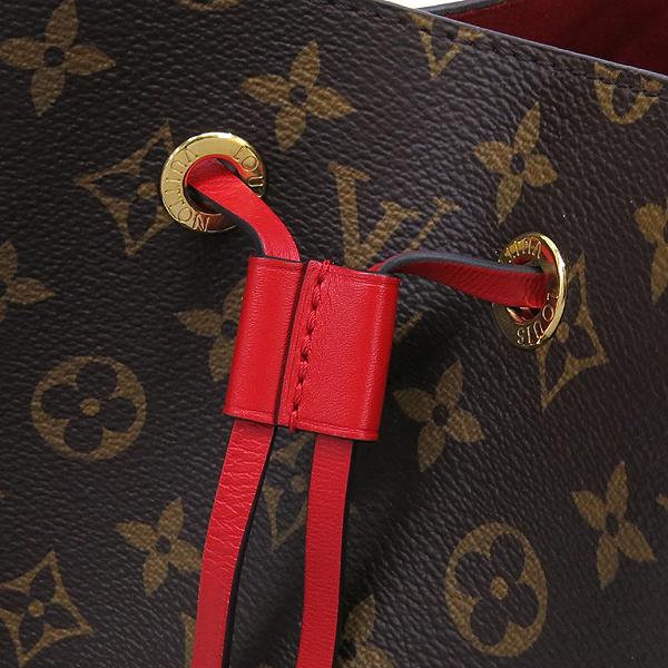 Louis Vuitton(루이비통) M44021 모노그램 캔버스 Coquelicot 레드컬러 네오 노에 버킷 숄더백 [잠실점] 이미지4 - 고이비토 중고명품