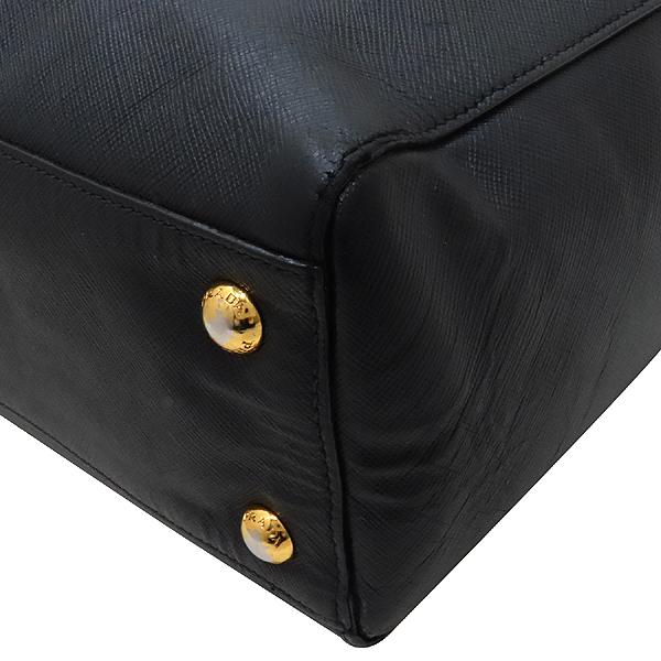 Prada(프라다) BN2259 SAFFIANO LUX NERO 블랙 사피아노 삼각 금장로고 토트백 + 숄더스트랩 2WAY [인천점] 이미지6 - 고이비토 중고명품