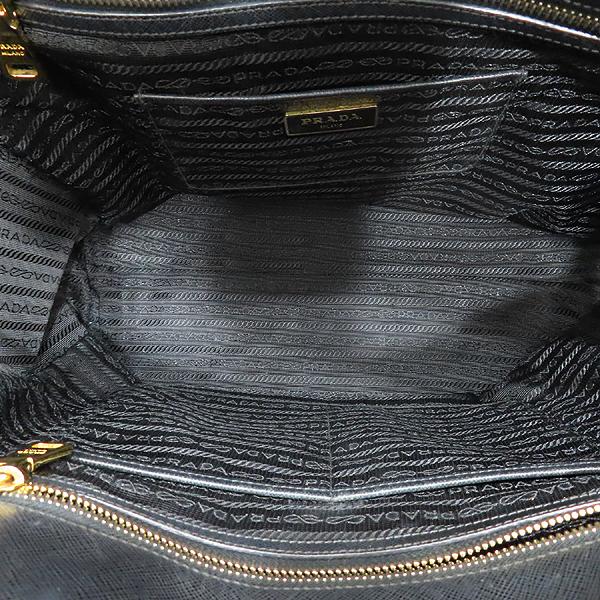Prada(프라다) BN2259 SAFFIANO LUX NERO 블랙 사피아노 삼각 금장로고 토트백 + 숄더스트랩 2WAY [인천점] 이미지7 - 고이비토 중고명품
