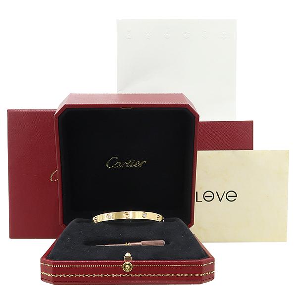 Cartier(까르띠에) B6036016 18K 핑크 골드 다이아 4포인트 러브 팔찌 - 16호 [강남본점]