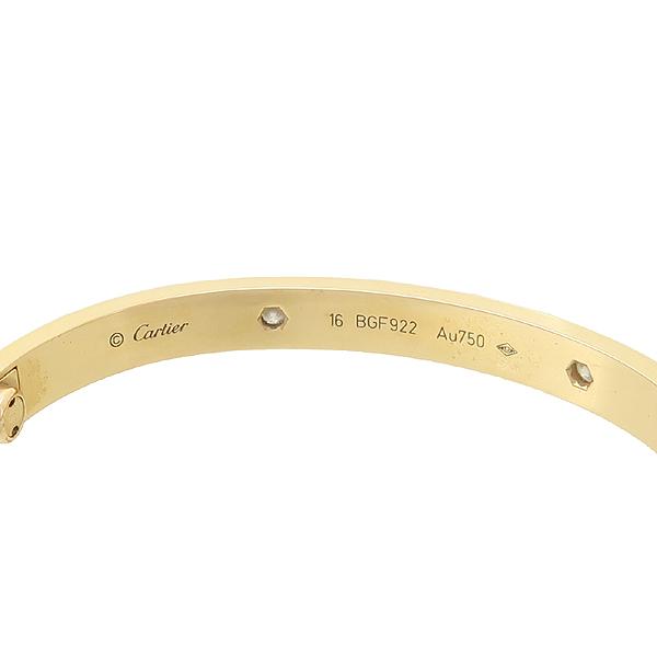 Cartier(까르띠에) B6036016 18K 핑크 골드 다이아 4포인트 러브 팔찌 - 16호 [강남본점] 이미지4 - 고이비토 중고명품