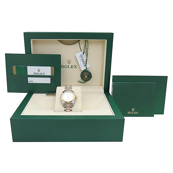 Rolex(로렉스) 279173 18K 옐로우골드 쥬빌레 콤비 10포인트 다이아 셋팅 DATEJUST(데이저스트) 28MM 여성용 시계 [부산센텀본점]