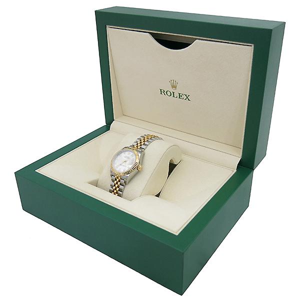 Rolex(로렉스) 279173 18K 옐로우골드 쥬빌레 콤비 10포인트 다이아 셋팅 DATEJUST(데이저스트) 28MM 여성용 시계 [부산센텀본점] 이미지2 - 고이비토 중고명품