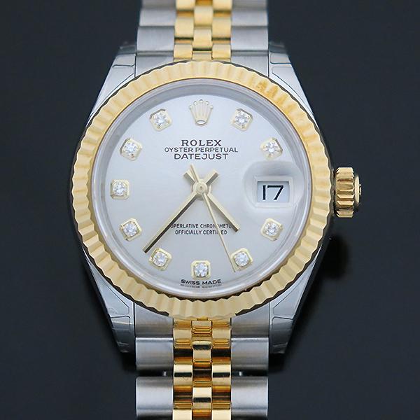 Rolex(로렉스) 279173 18K 옐로우골드 쥬빌레 콤비 10포인트 다이아 셋팅 DATEJUST(데이저스트) 28MM 여성용 시계 [부산센텀본점] 이미지3 - 고이비토 중고명품