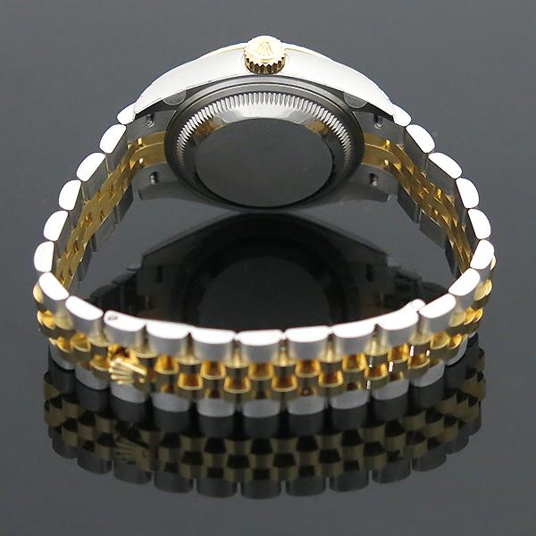 Rolex(로렉스) 279173 18K 옐로우골드 쥬빌레 콤비 10포인트 다이아 셋팅 DATEJUST(데이저스트) 28MM 여성용 시계 [부산센텀본점] 이미지5 - 고이비토 중고명품