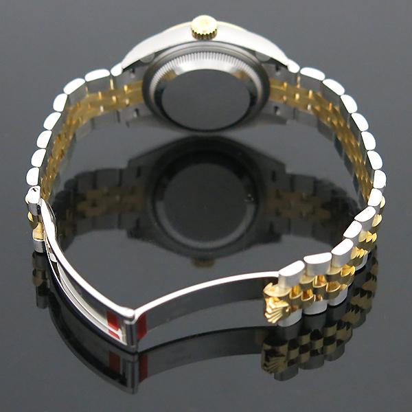 Rolex(로렉스) 279173 18K 옐로우골드 쥬빌레 콤비 10포인트 다이아 셋팅 DATEJUST(데이저스트) 28MM 여성용 시계 [부산센텀본점] 이미지6 - 고이비토 중고명품
