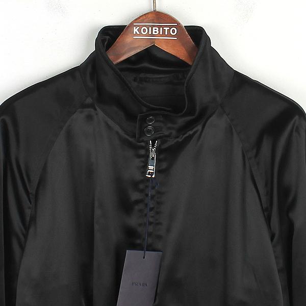 Prada(프라다) SGN671 블랙 컬러 배색 밴딩 남성용 블루종 자켓 [강남본점] 이미지2 - 고이비토 중고명품