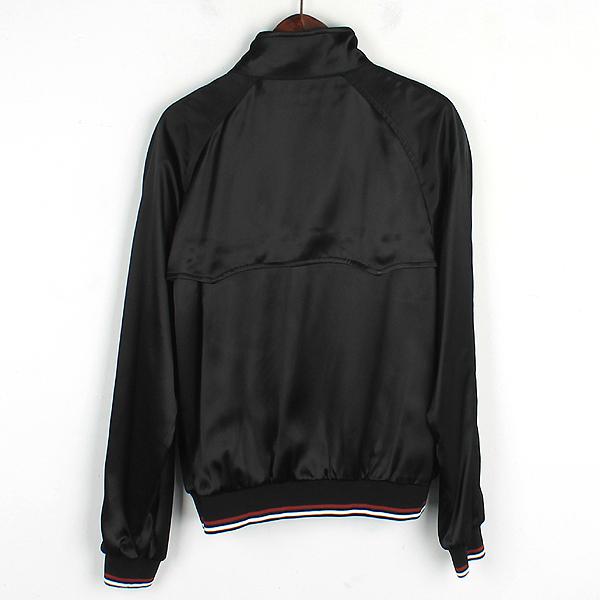 Prada(프라다) SGN671 블랙 컬러 배색 밴딩 남성용 블루종 자켓 [강남본점] 이미지3 - 고이비토 중고명품