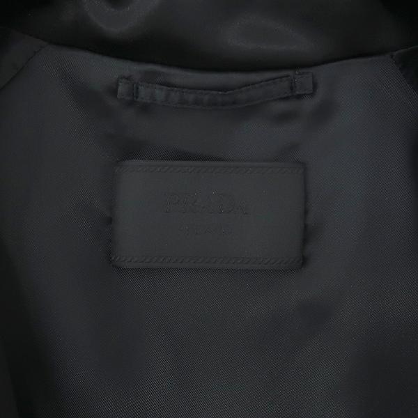 Prada(프라다) SGN671 블랙 컬러 배색 밴딩 남성용 블루종 자켓 [강남본점] 이미지4 - 고이비토 중고명품