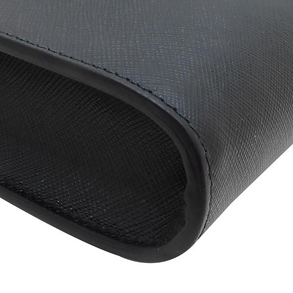 Prada(프라다) 2VN003 블랙 사피아노 SAFFIANO TRAVEL NERO 네이비 삼각 로고 집업 클러치 [인천점] 이미지5 - 고이비토 중고명품