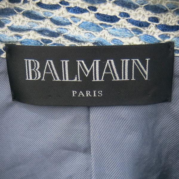 Balmain(발망) 비스코스 100% 트위드 여성 자켓 [동대문점] 이미지2 - 고이비토 중고명품