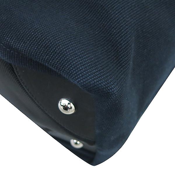 Chanel(샤넬) 블랙 COCO로고 정방 패브릭 쇼퍼 2WAY [부산센텀본점] 이미지6 - 고이비토 중고명품