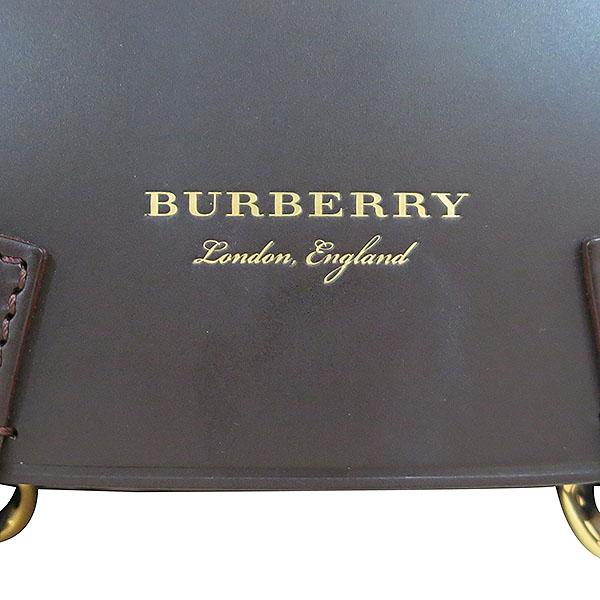 Burberry(버버리) 4066994 브라이들 금장 헤이마켓 체크 토트백 + 숄더스트랩 2WAY [대구동성로점] 이미지5 - 고이비토 중고명품