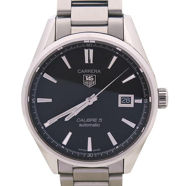 Tag Heuer(태그호이어) WAR211A BA0782 CARRERA(까레라) Calibre5(칼리브5) 오토매틱 스틸 남성용 시계 [강남본점] 이미지2 - 고이비토 중고명품