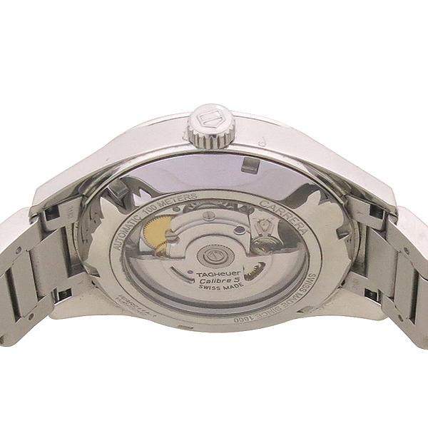Tag Heuer(태그호이어) WAR211A BA0782 CARRERA(까레라) Calibre5(칼리브5) 오토매틱 스틸 남성용 시계 [강남본점] 이미지5 - 고이비토 중고명품