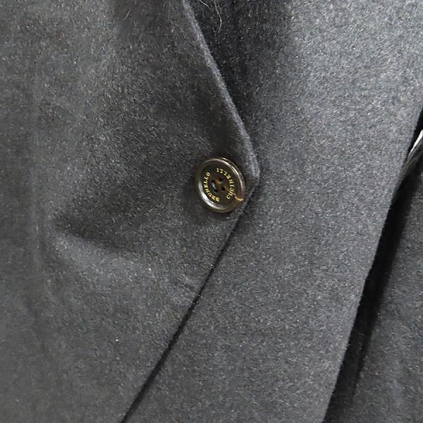 BRUNELLO CUCINELLI(브루넬로 쿠치넬리) 100% 캐시미어 다크그레이 컬러 넥 퍼 여성용 자켓 [인천점] 이미지3 - 고이비토 중고명품