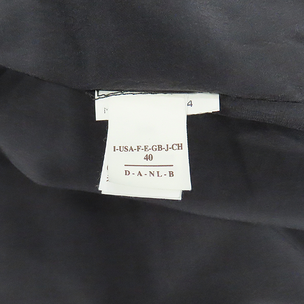 BRUNELLO CUCINELLI(브루넬로 쿠치넬리) 100% 캐시미어 다크그레이 컬러 넥 퍼 여성용 자켓 [인천점] 이미지6 - 고이비토 중고명품