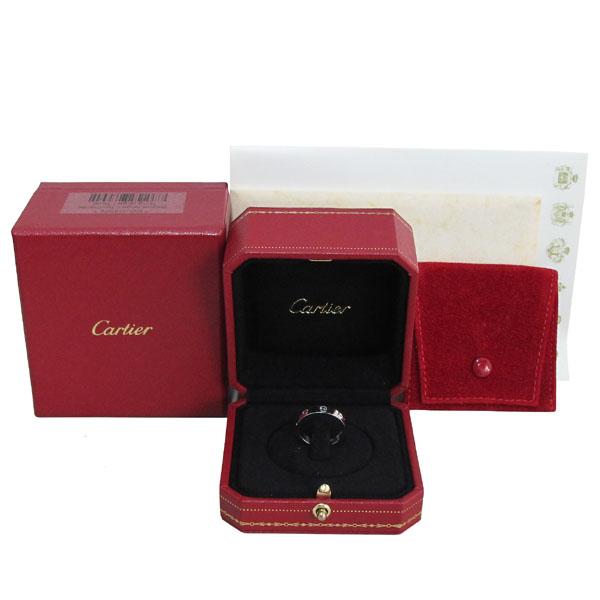 Cartier(까르띠에) B4050551 18K 화이트골드 미니 러브링 1포인트 다이아 반지-11호 [대구반월당본점]