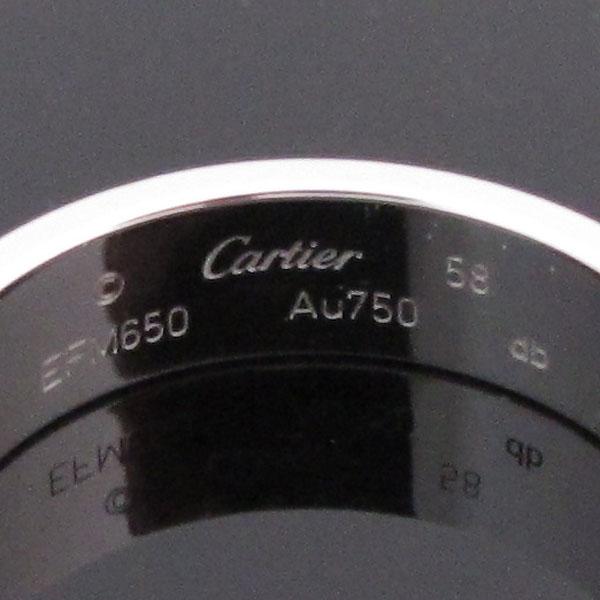 Cartier(까르띠에) B4084758 18K 화이트골드 러브링 반지 - 18호 [대구반월당본점] 이미지4 - 고이비토 중고명품