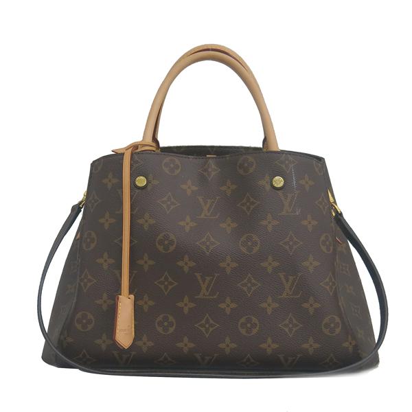 Louis Vuitton(루이비통) M41056 몽테뉴 모노그램 캔버스 MM 토트백 + 숄더스트랩 2WAY [동대문점]