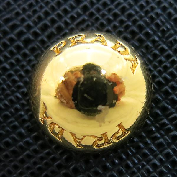 Prada(프라다) 1BA838 블랙 사피아노 금장 로고 장식 토트백 + 크로스스트랩 2WAY [부산센텀본점] 이미지5 - 고이비토 중고명품