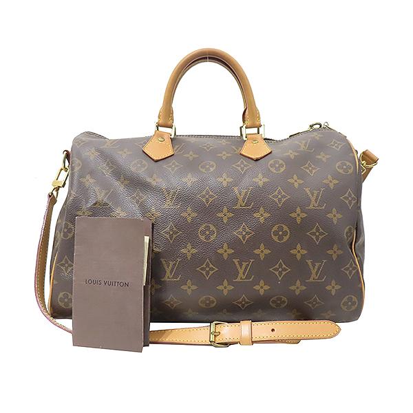 Louis Vuitton(루이비통) M40392 모노그램 캔버스 반둘리에 스피디 35 토트백+숄더스트랩 2WAY [부산서면롯데점]
