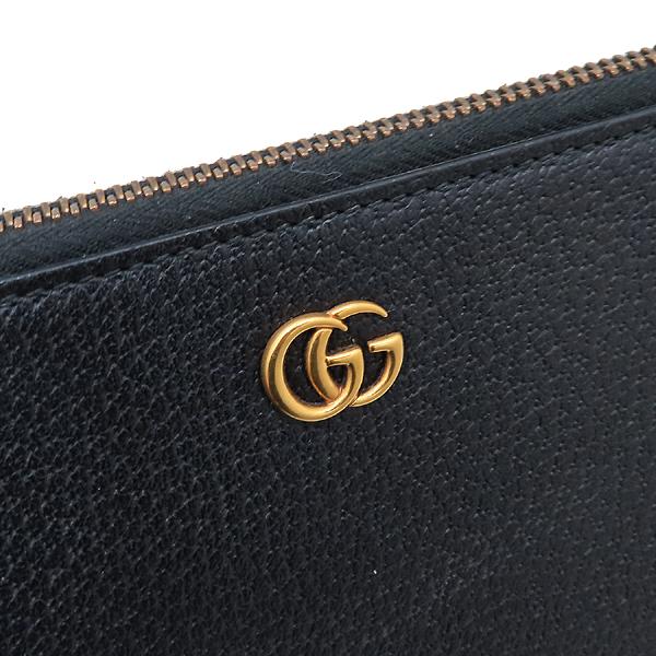 Gucci(구찌) 547077 블랙 레더 GG Marmont(마몬트) 금장 로고 클러치백 [인천점] 이미지4 - 고이비토 중고명품
