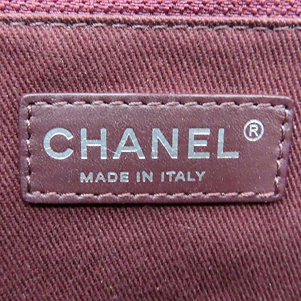 Chanel(샤넬) 은장 COCO로고 블랙 컬러 램스킨 쉐브론 점보사이즈 체인 숄더백 [대전본점] 이미지7 - 고이비토 중고명품