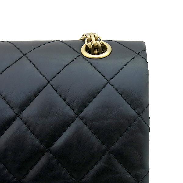 Chanel(샤넬) A37587 빈티지 2.55 M 사이즈 금장 체인 숄더백 [부산센텀본점] 이미지5 - 고이비토 중고명품