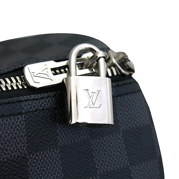 Louis Vuitton(루이비통) N41418 다미에 그라피트 캔버스 키폴 45 토트백 + 숄더 스트랩 [부산센텀본점] 이미지3 - 고이비토 중고명품