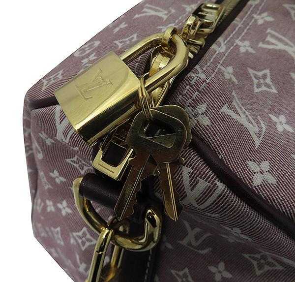 Louis Vuitton(루이비통) M56704 모노그램 이딜캔버스 세피아 스피디 반둘리에 30 토트백 + 숄더스트랩 2WAY [부산서면롯데점] 이미지4 - 고이비토 중고명품