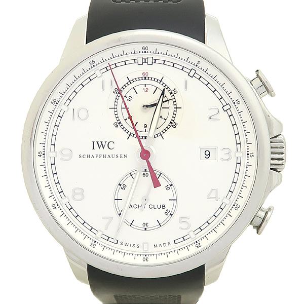 IWC(아이더블유씨) IW390211 포르투기저 요트 클럽 크로노그래프 오토매틱 러버 밴드 남성용 시계 [강남본점] 이미지5 - 고이비토 중고명품