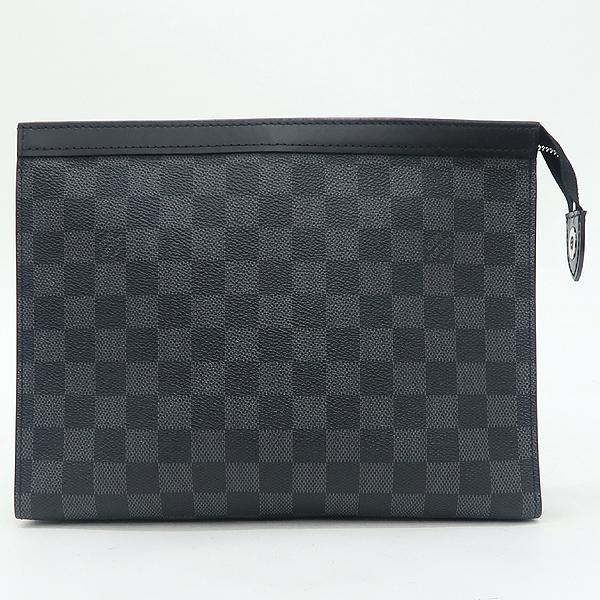 Louis Vuitton(루이비통) N41696 다미에 그라파이트 캔버스 포쉐트 보야주 MM 클러치 [강남본점] 이미지2 - 고이비토 중고명품